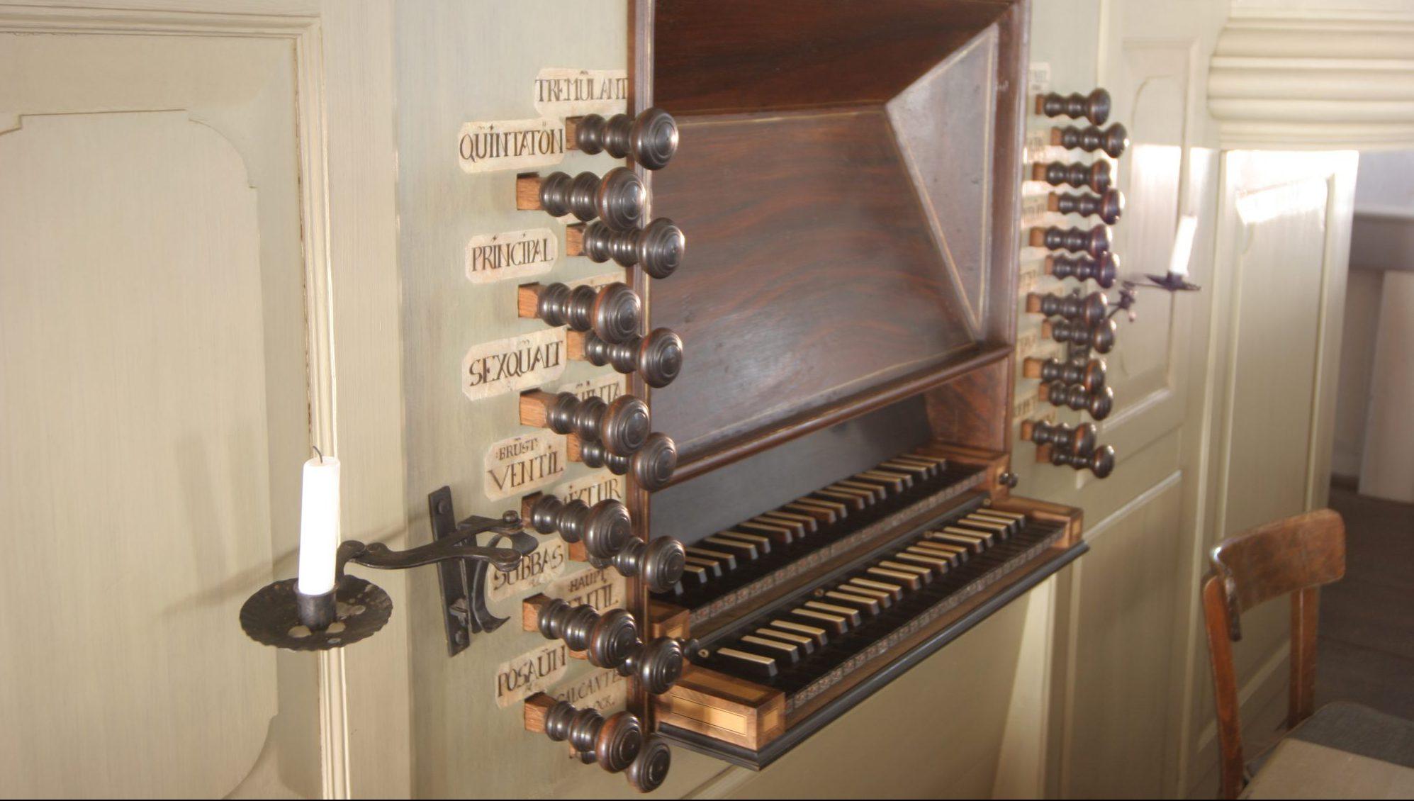 Die Orgel in der Trebeler Kirche